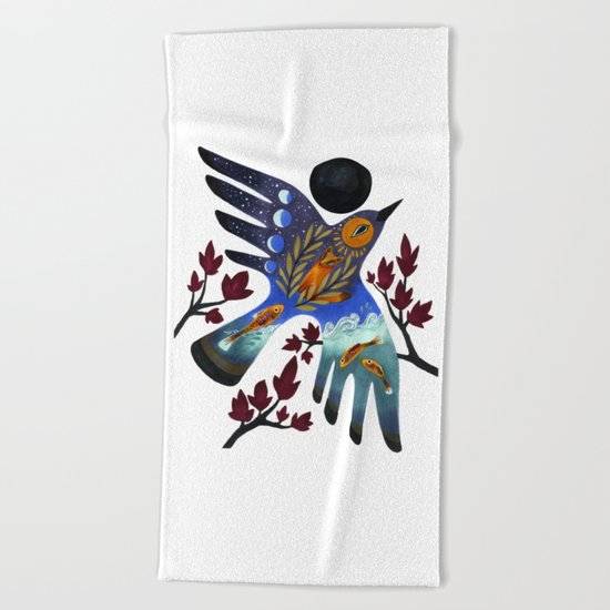 Life Cycles Beach Towel