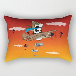 Muso Milkwar Aircraft Rectangular Pillow