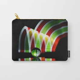 Crystal and Colors abstract painting wall decor Carry-All Pouch