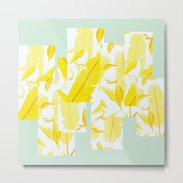 Yellowish Metal Print