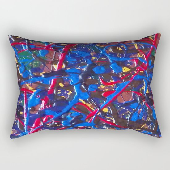 Abstract #15 Rectangular Pillow