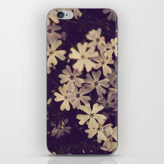 Blazing in Gold and Quenching in Purple iPhone & iPod Skin