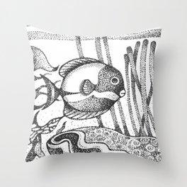 fish6 Throw Pillow