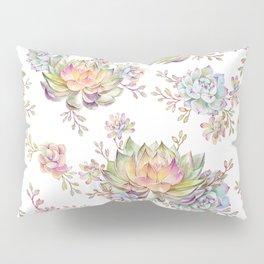 succulent watercolor 5 Pillow Sham