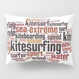 Kite Surfing Pillow Sham
