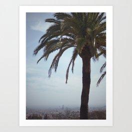 View Of Barcelona Art Print