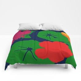 Nasturtium Two Comforters