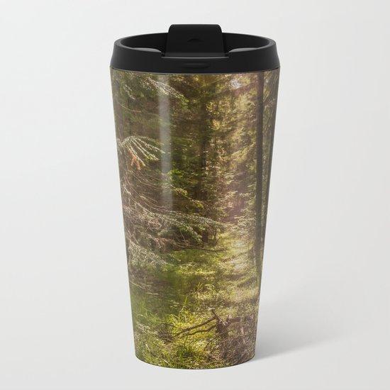 Summer forest Metal Travel Mug