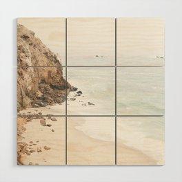 Malibu California Beach Wood Wall Art