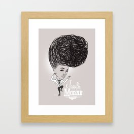 Janelle Monáe  'Tightrope' Framed Art Print