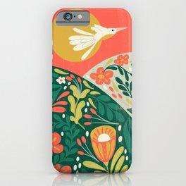Harvest Moon Folk Collection | Sunset iPhone Case