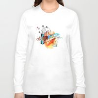 sketch Long Sleeve T-shirts featuring Sketch by Adriana Bermúdez