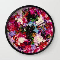 valentina Wall Clocks featuring Valentina by Glanoramay