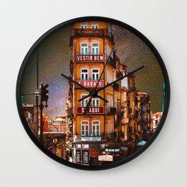City of Stars Wall Clock