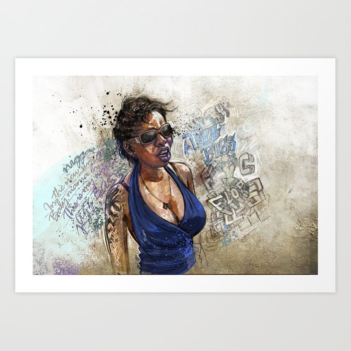 jazz bazz Art Print