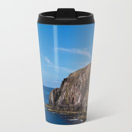 rocky coast Travel Mug