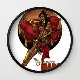Deja Thoris - Princess of Mars Wall Clock