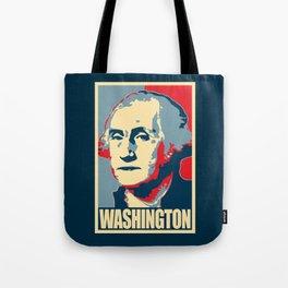 George Washington Propaganda Pop Art Tote Bag