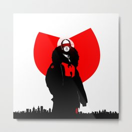 WUTANG X GHETTO Metal Print