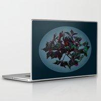dark side of the moon Laptop & iPad Skins featuring Dark side of the moon by Ordiraptus