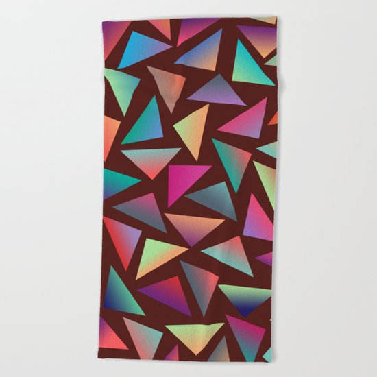 Geometric Pattern VI Beach Towel