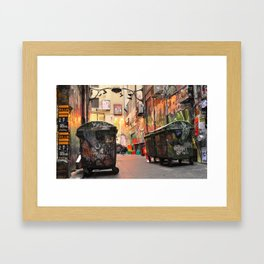 Flinders in the Fall  Framed Art Print