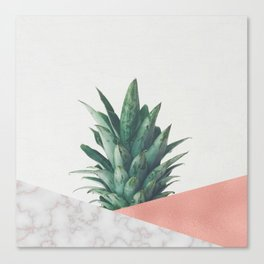 Pineapple Dip VI Canvas Print