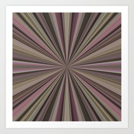 Candy Starburst Art Print