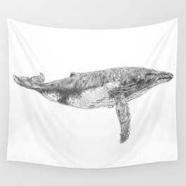 A Humpback Whale Wall Tapestry