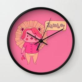 Jambo! Wall Clock