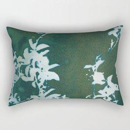 Dark Garden Rectangular Pillow