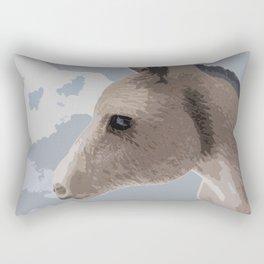 Donkey Face Rectangular Pillow