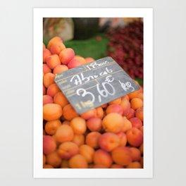 Market 3 Art Print