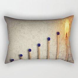 match stairsteps concept Rectangular Pillow