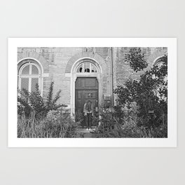 Haunted place Art Print