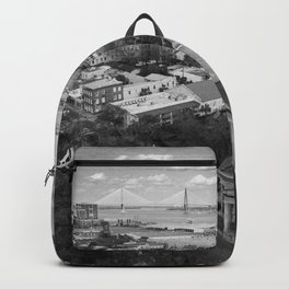St Philips Black and White Backpack