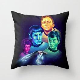 The Final Frontier Throw Pillow