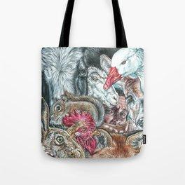 Animal World 2 Tote Bag