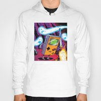 gameboy Hoodies featuring The Legend of Gameboy by thechrishaley