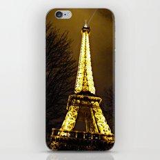 Paris in December iPhone & iPod Skin