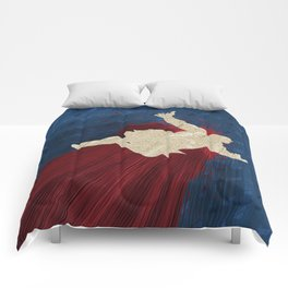 When Hondas Fly (Homage To Street Fighter's E. Honda) Comforters