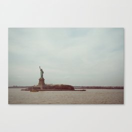 View from the Ferry Canvas Print