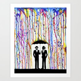 Just a Couple of Punks... Art Print