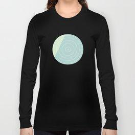 Retro Mod Flowers #6 by Friztin Long Sleeve T-shirt