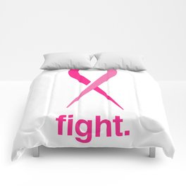 fight. Comforters