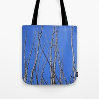 climbing Tote Bags featuring Climbing  by Tea Tree // P H O T O