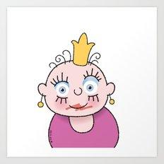 Little Princess 1 Art Print