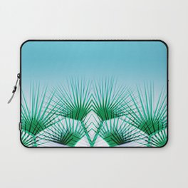 Airhead - memphis throwback retro vintage ombre blue palm springs socal california dreamer pop art Laptop Sleeve