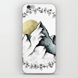 Color Mountain iPhone Skin