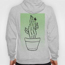 Cactus 1 ombre green Hoody